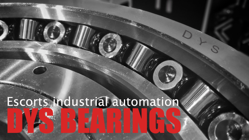 DYS BEARINGS escorts industrial automation · 中国机床展